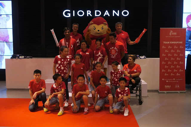 Team Singapore x Giordano Collection 2015 Event