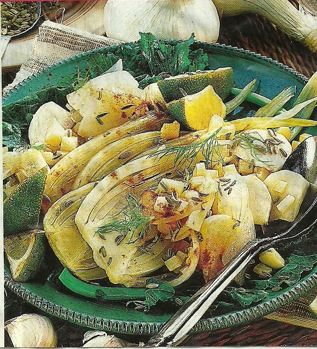Способ приготовления полезного и вкусного горячего блюда из фенхеля