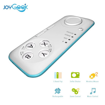 JoyGeek VR Controller All-in-One Portable Mini Bluetooth Gamepad For Samsung Galaxy S10