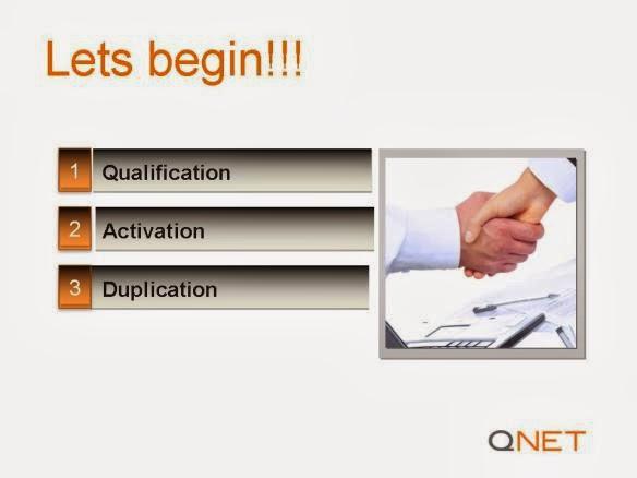 QNET 3 steps