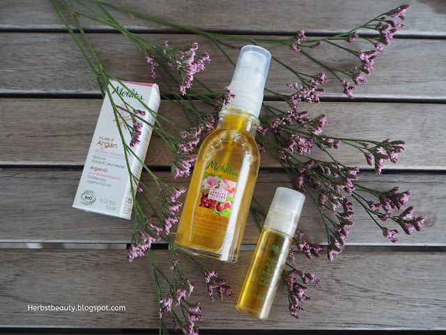 Melvita Pulpe de Rose und Melvita Roll-on Huile d' Argan