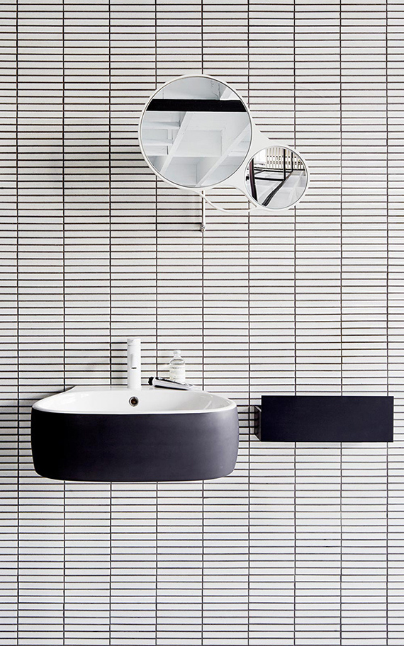 Contemporary Black And White Bathrooms My Paradissi