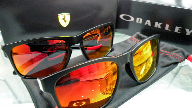 Oakley Ferrari Collection CATALYST vs SLIVER sunglasses