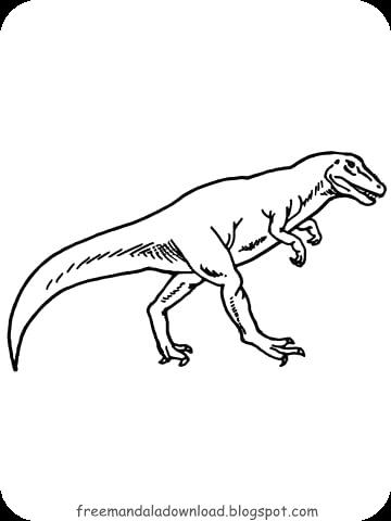 dinosaurier malvorlagen | free mandala download