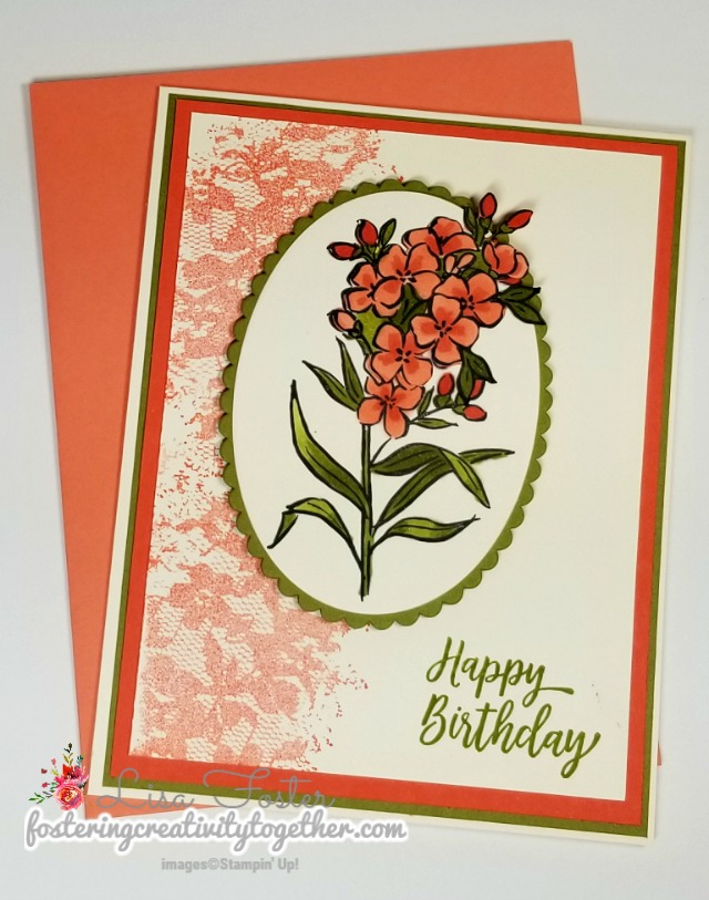 Southern Serenade, Birthday Card, Stampin Up, Handmade card