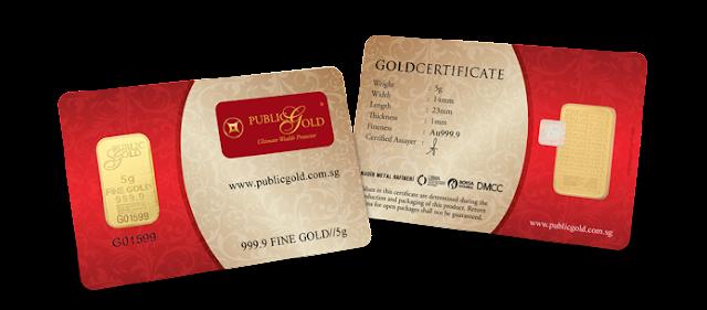 Gold Bar 5gram