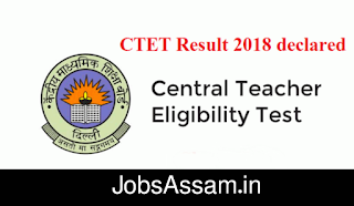 CTET Exam 2018 Result Out