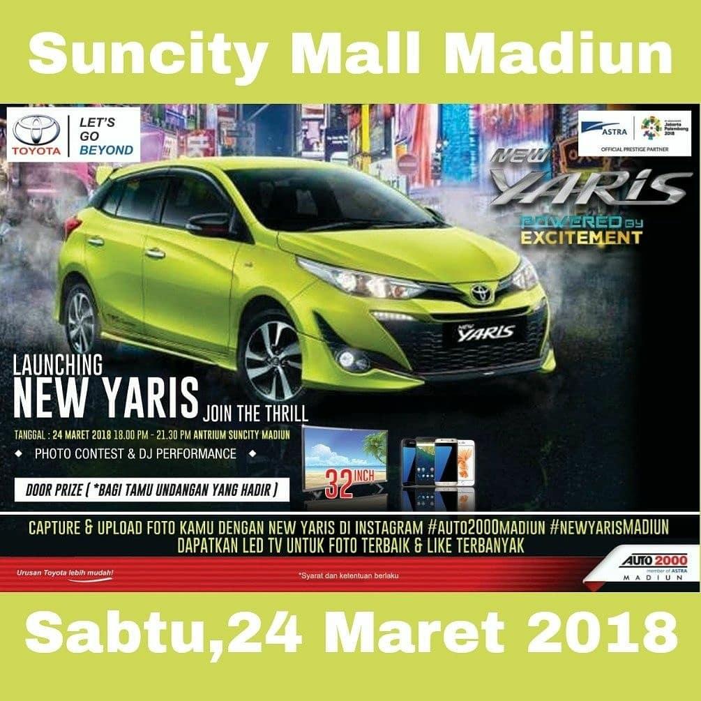 Promo New Yaris Madiun Maret 2018 Toyota Madiun Harga Otr Dan Promo Kredit Terbaru