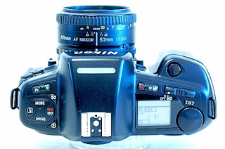 Nikon F90X (N90s), Top