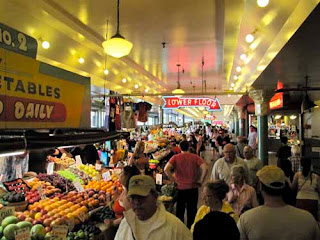 Pike's Place Market Seattle Washington USA
