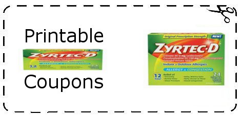 photo regarding Zyrtec Printable Coupon known as Printable Zyrtec Discount codes Printable Grocery Coupon codes