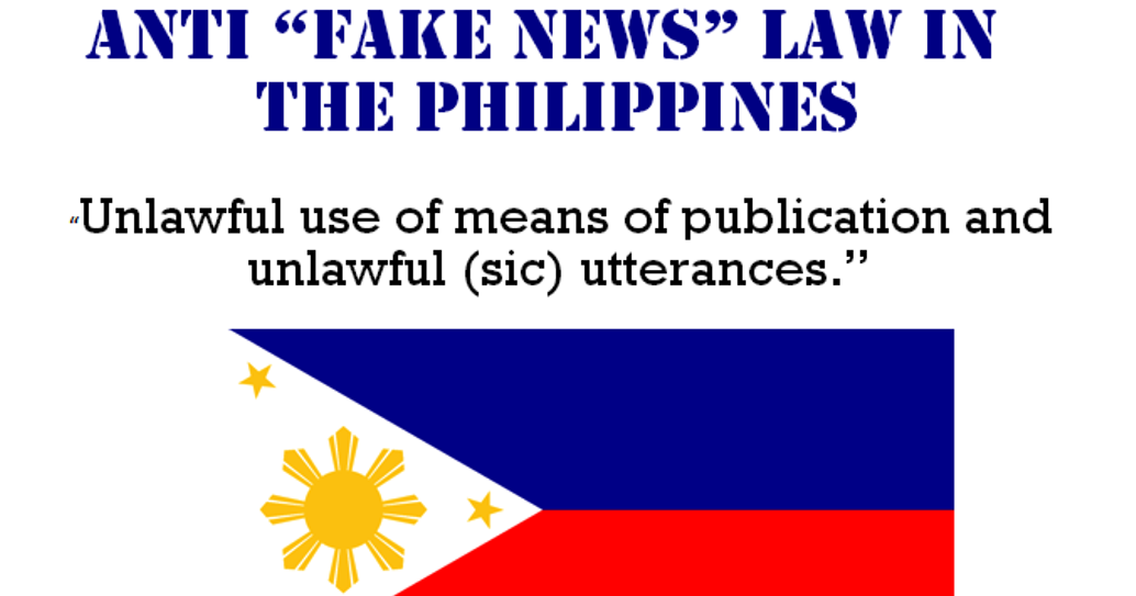 RA 10951 Anti Fake News Law in the Philippines - Penalty ...