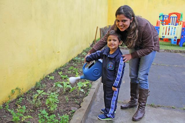 Creche Municipal de Registro-SP desenvolve projeto de Alimentação Saudável com participação de pais e alunos