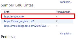 Mencegah Link Asing yang Menuju Blog Kita