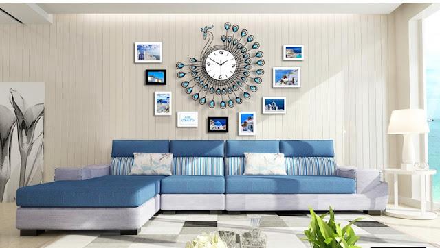 Đồng hồ trang trí treo tường Deco DHNL319