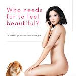 Olivia Munn Peta Photoshoot | No clothes