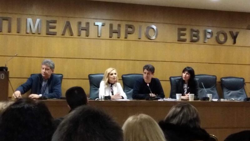Με επιτυχία η εκδήλωση της Ένωσης Αστυνομικών Αλεξανδρούπολης για τον καρκίνο του μαστού