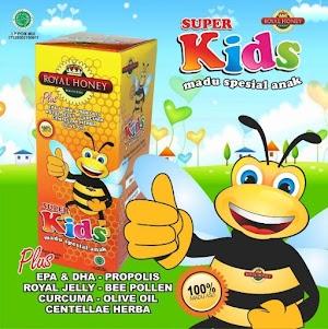 Super Madu Kids Untuk Anak Tumbuh Cerdas