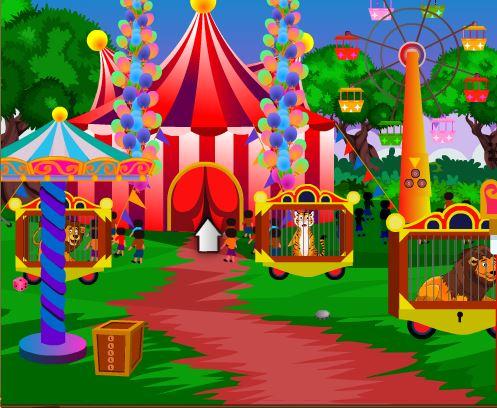 5nGames Circus Lion Escap…