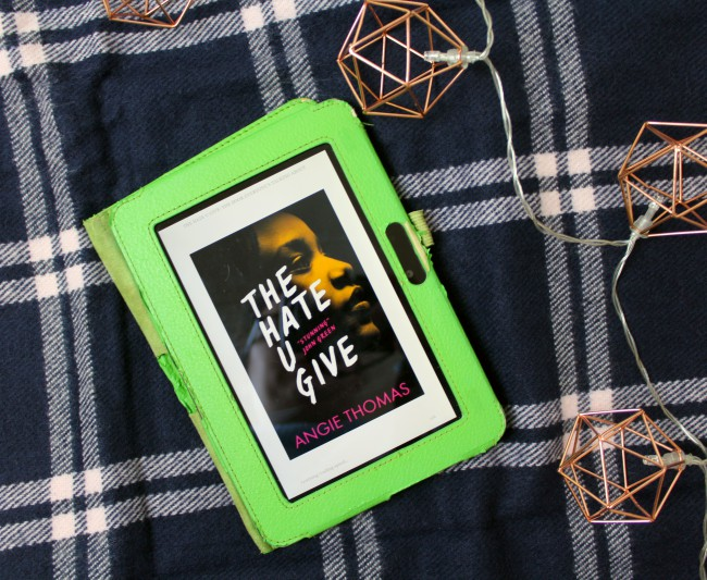 Book of the Month - The Hate U Give (THUG)
