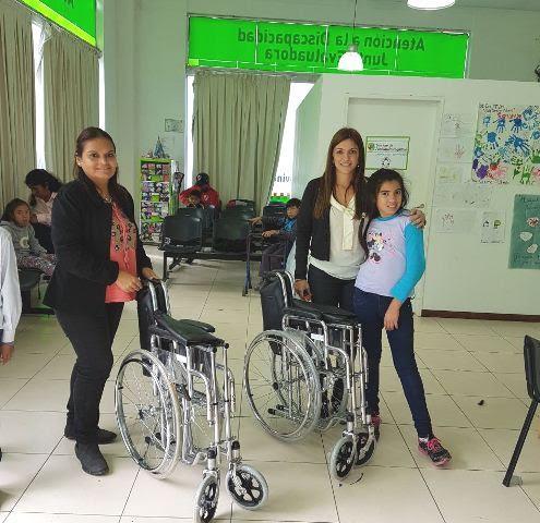 Vamosparaadelante el gobierno provincial entrego sillas for Sillas para hospital
