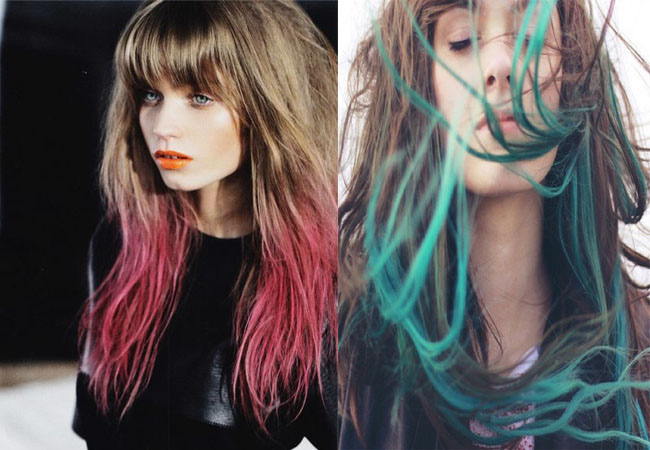 how to style dip dyed hair a matter of style diy fashion how to dip dye your hair 4976