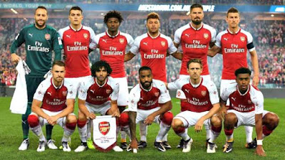 Daftar Skuad Pemain Arsenal 2017-2018 Terbaru