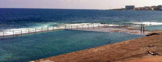 Piscinas naturales de bajamar y punta del hidalgo isla for Piscinas naturales en el sur de tenerife