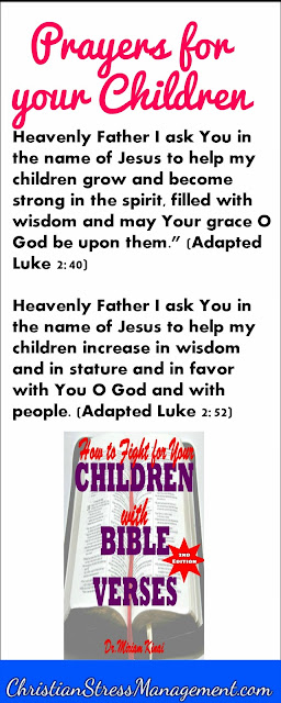 Prayers for your children from the Bible