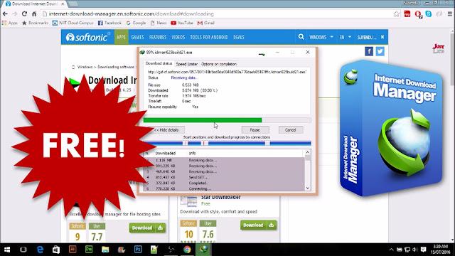 برنامج انترنت مانجر لتحميل الملفات من الانترنت مجانا idm