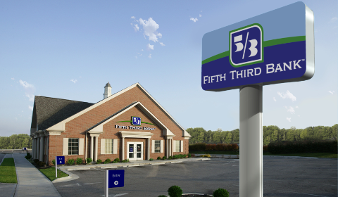 Une agence Fifth Third Bank