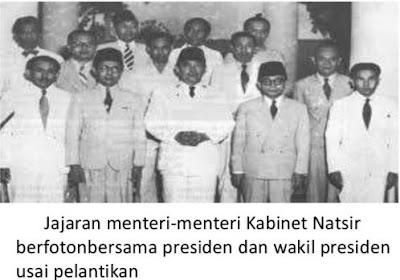 Penyebab Jatuhnya Kabinet Natsir