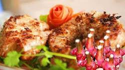 Làm món cá trắm nướng với riềng mẻ