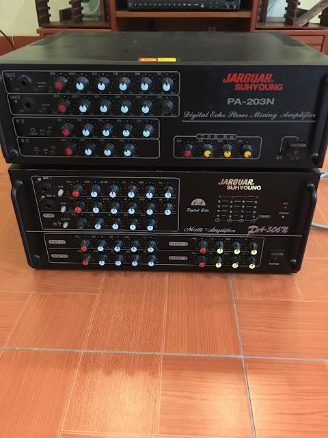Amplifier karaoke - Jarguar 203N - Made in Korea hàng bãi