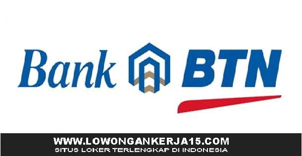 Lowongan Kerja Bank BTN (Persero) Tbk Besar Besaran Tingkat SMA D3