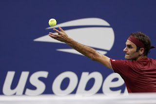 Federer clarifies joke about retirement after US Open win