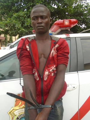 18-YEAR OLD PROFESIONAL PHONE ROBBER ARRESTES IN LAGOS