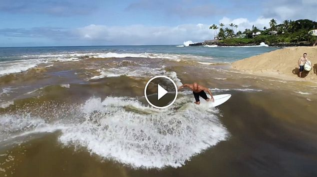 Breaking News - Kelly Slater Cheats on Wavepool with Waimea River