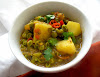 Aloo Mattar (Potato and Pea Curry)