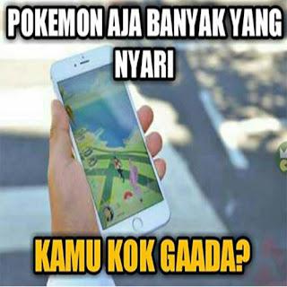 Kumpulan Gambar Lucu Pokemon Go