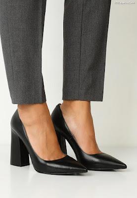 Zapatos de Tacón Grueso