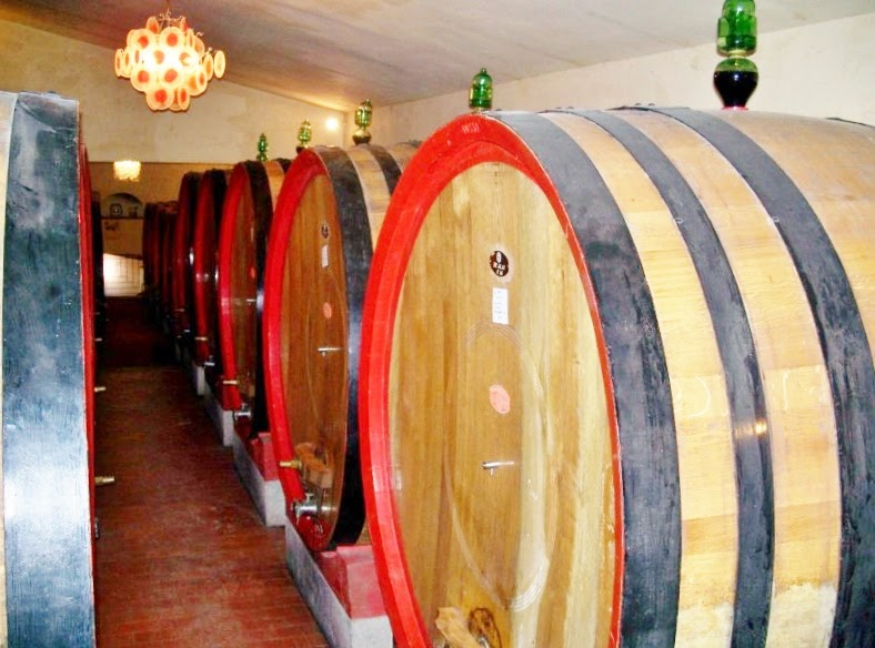 Slavonian oak barrels for Brunello di Montalcino
