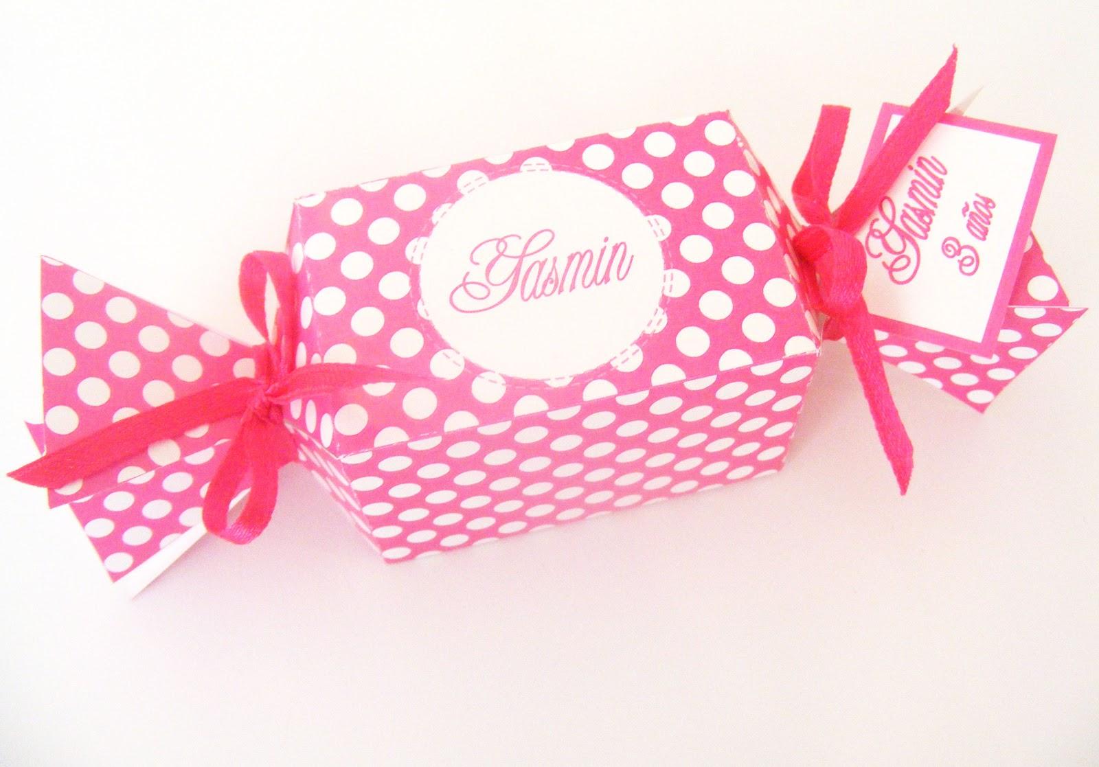 Recuerdos con encanto caja caramelo y vestido po for Cajas personalizadas con fotos