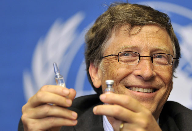 Bill Gates' Plan to Vaccinate the World