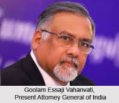 Attorney General Of India 2019