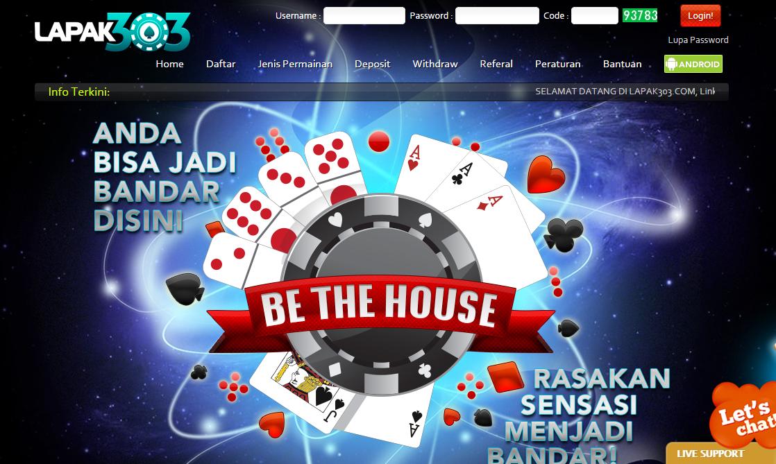 Kumpul Poker: Lapak303 agen ceme online terpercaya