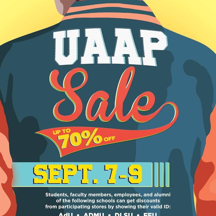 UAAP Sale at SM Metro Manila malls