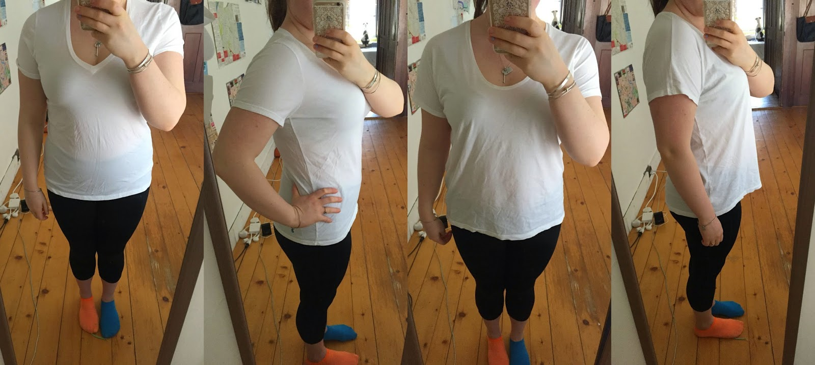 everlane, everlane tee, comparison, white