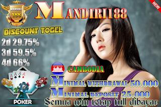 Prediksi Togel Online Cambodia4d Tanggal 25 April 2018 Rabu