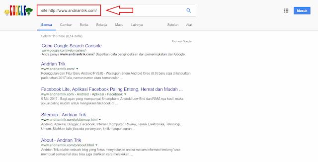 cara agar artikel cepat diindex google